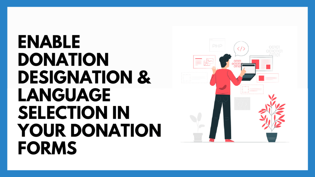 How to Enable Donation Designation
