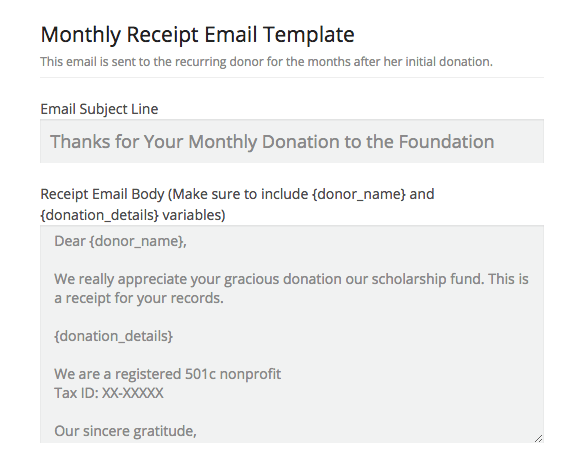 New Features: Customizable Monthly Receipts, New Buttons, and Fee Info