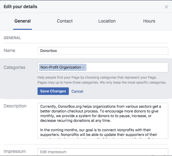 how to add paypal to facebook page