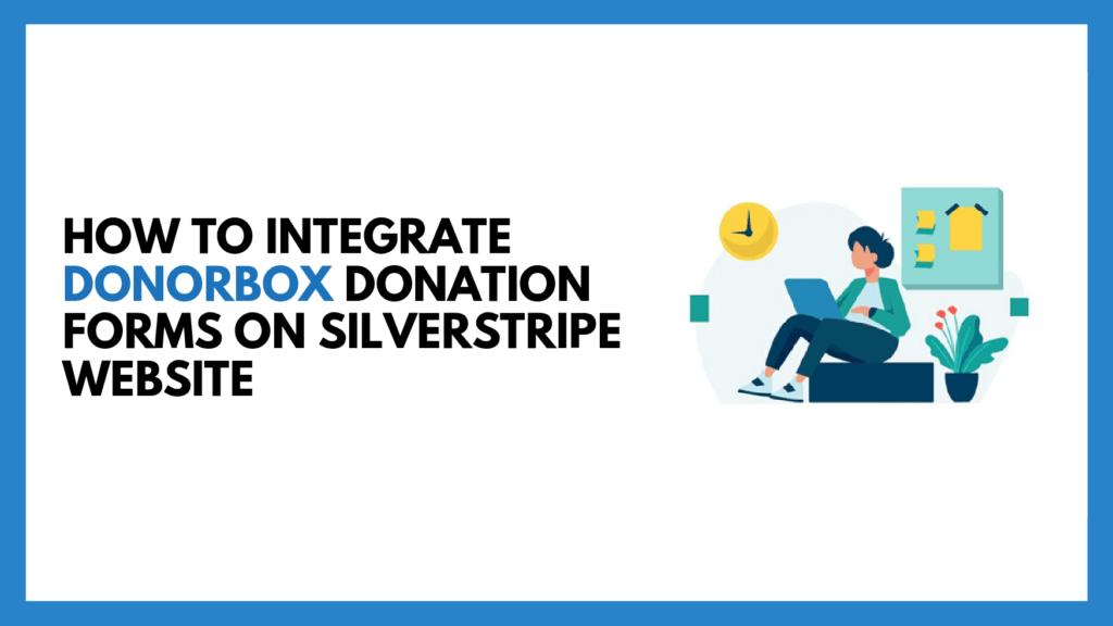 SilverStripe donations