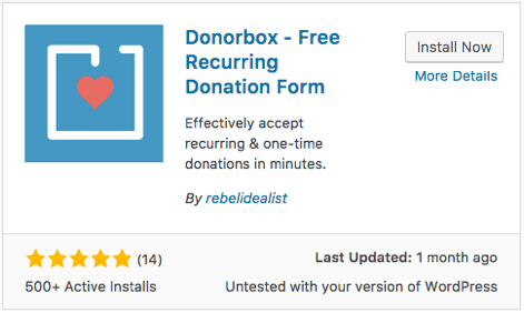 Embed Donation Form Using Wordpress Plugin - Donorbox