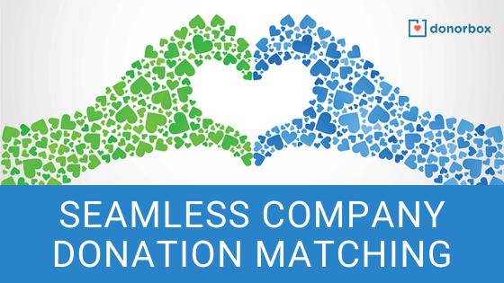 company donation matching