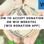 Wix Donation Button – Accept Recurring Donations Online