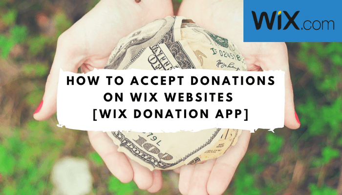 Wix Donation Button - Accept Recurring Donations on Wix