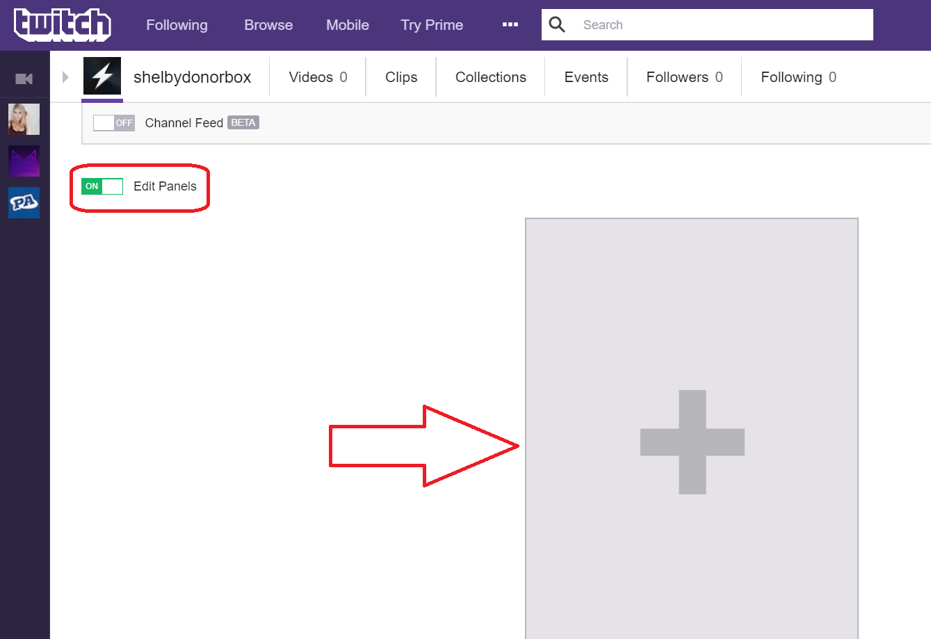 Rise Credit >> How To Add Donate Button to Twitch - Twitch Donation Button