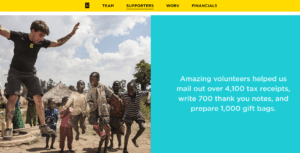 charitywater2 - nonprofit annual report template