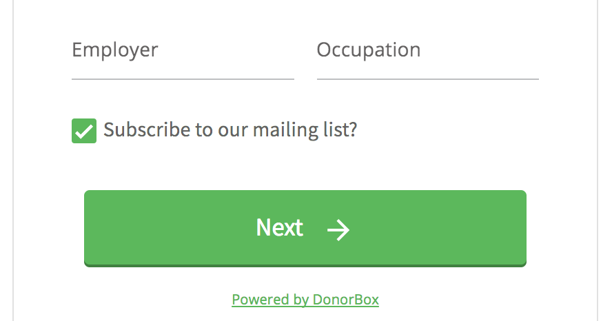 email donation campaigns