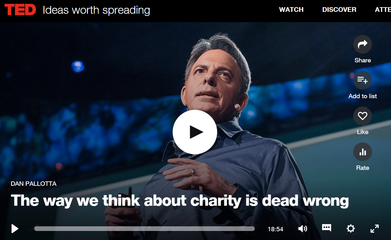 Top 10 Ted Talks for Nonprofits