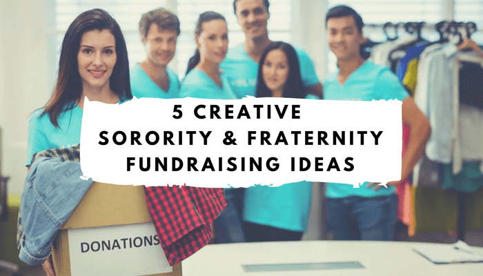 Fraternity Fundraising Ideas