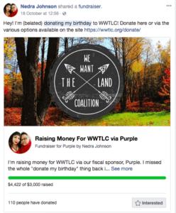 Nonprofit social fundraising -