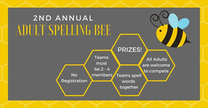 Adult Spelling Bee - Sorority & Fraternity Fundraising Ideas for nonprofits