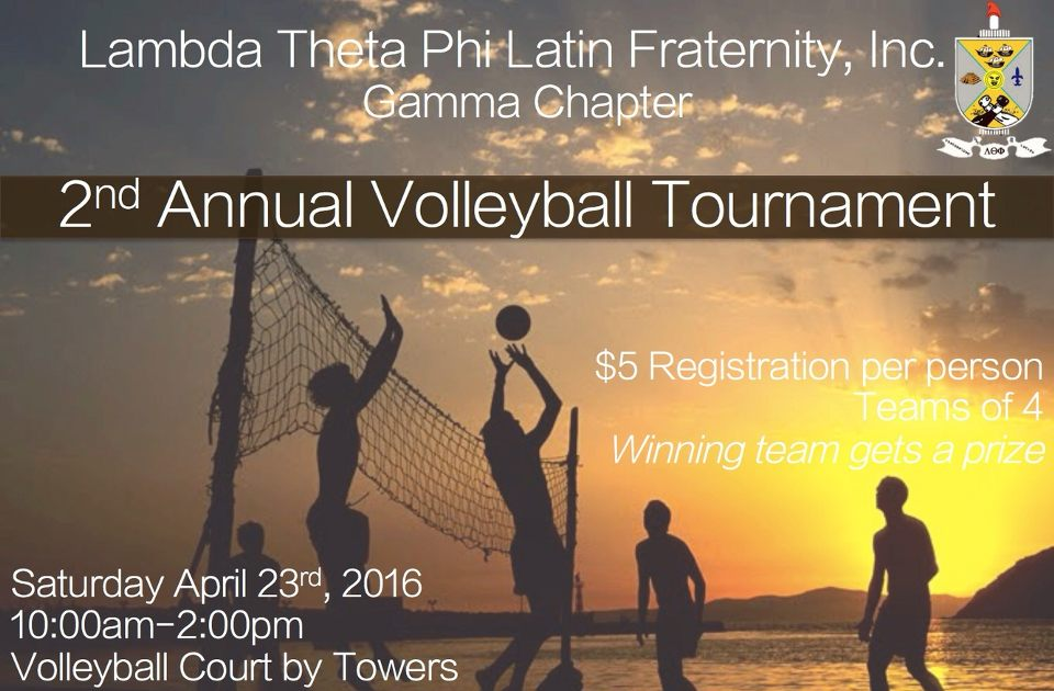 Sports Tournament - #3 Fraternity Fundraising Ideas