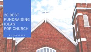 Best fundraising ideas for church
