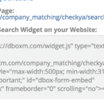 Embed Company Matching Search