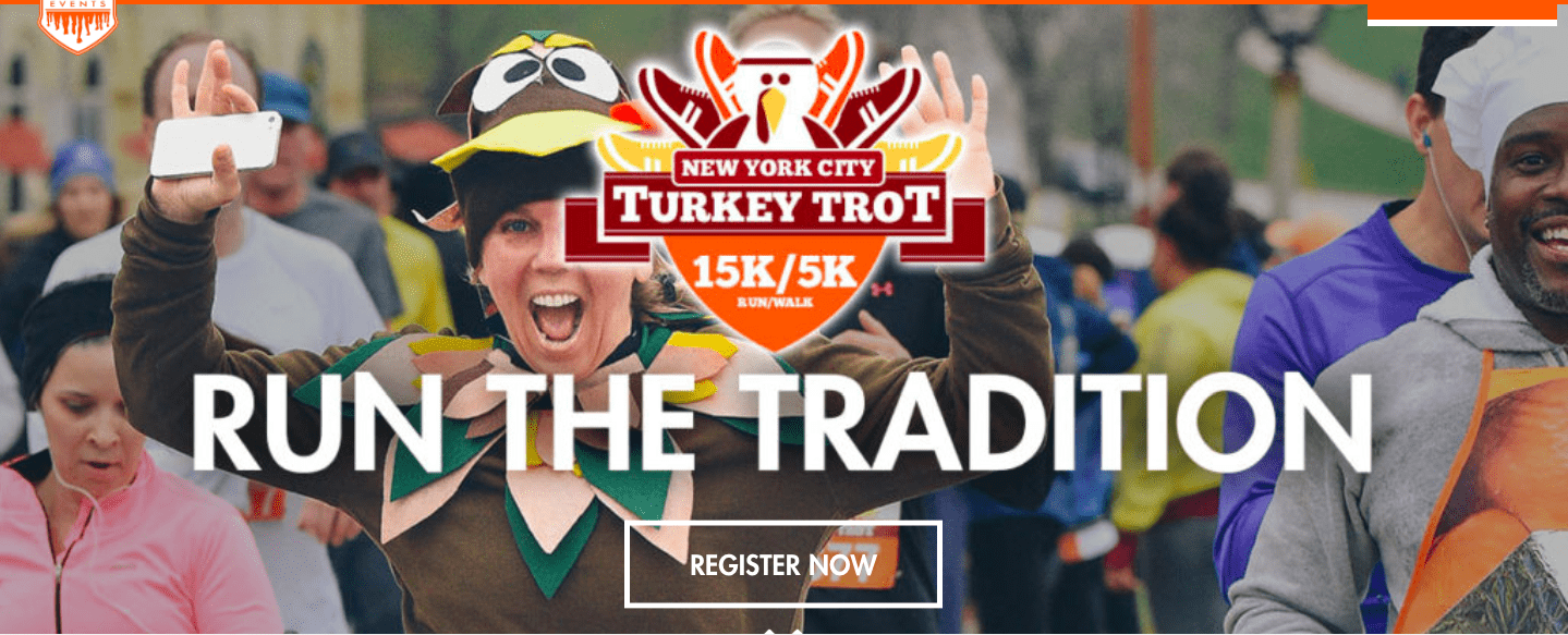 Turkey trot - thanksgiving fundraising ideas