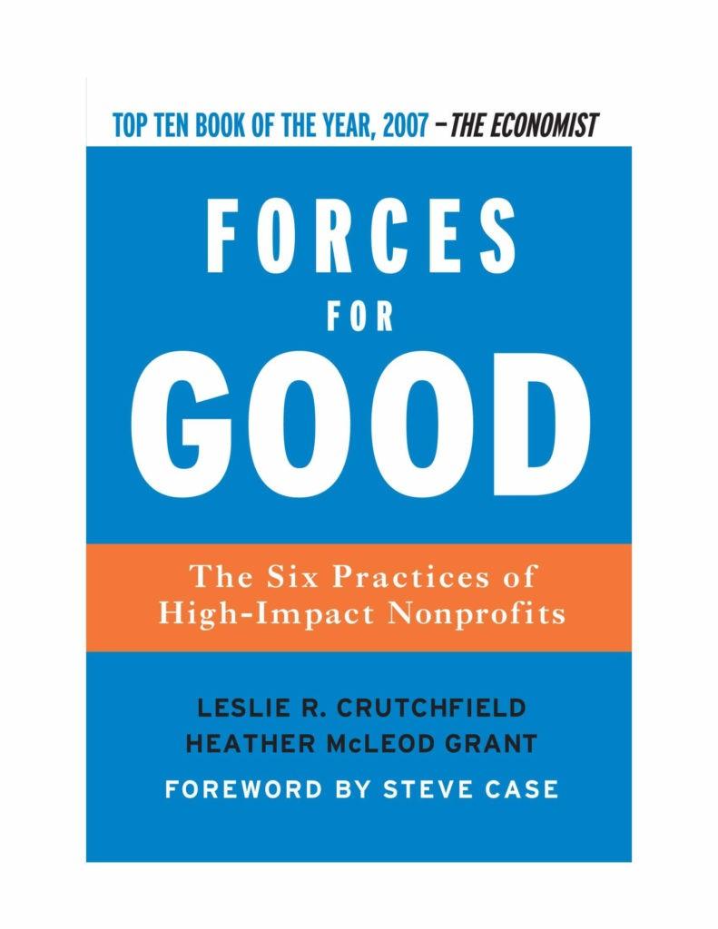 forces for good - nonprofit management books