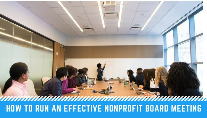 Nonprofit Board Meeting