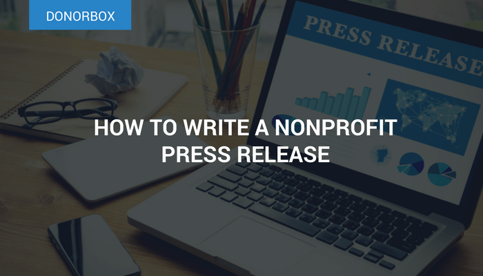 How to Write a Nonprofit Press Release