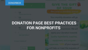 Donation Page Best Practices For Nonprofits; Tips for Great Donation Pages
