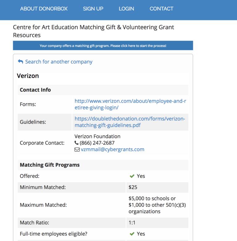 donorbox platform update