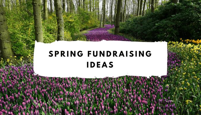 Spring Fundraising Ideas