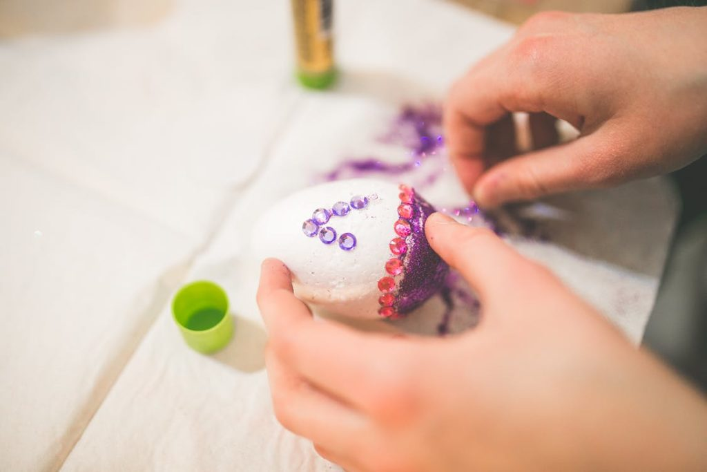 easter egg decoration - spring fundraisers