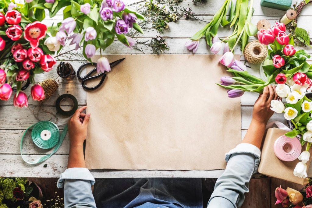 flower arranging workshop - spring fundraiser events