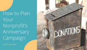 Nonprofit's Anniversary