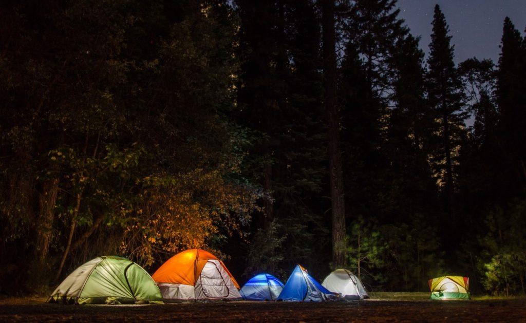 camping - summer fundraiser