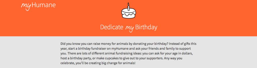 humane society fundraiser