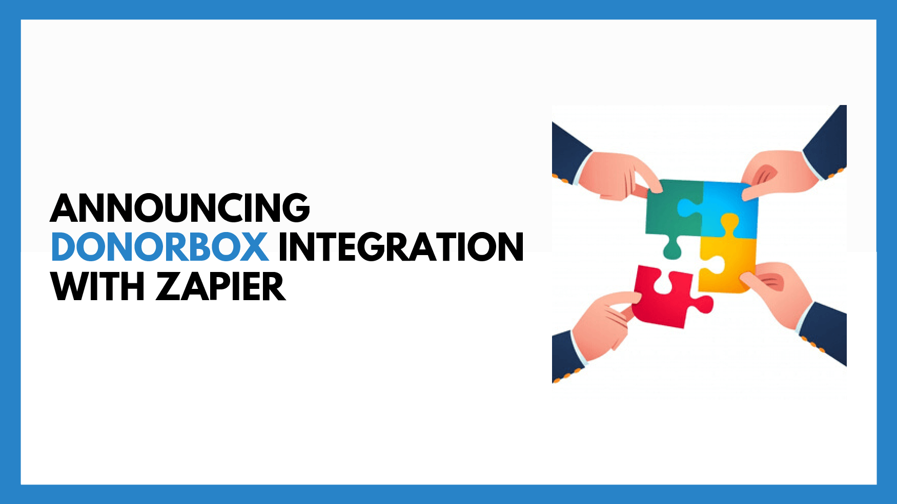 Announcing Donorbox's Integration with Zapier