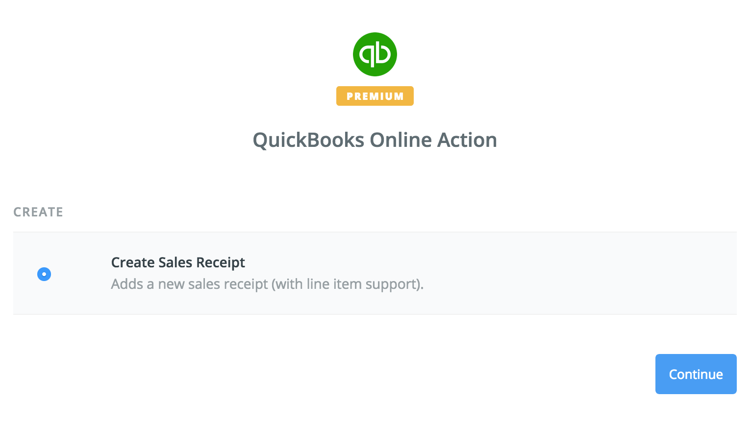 Integrate donorbox with quickbooks