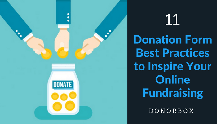 Donation Form Best Practices