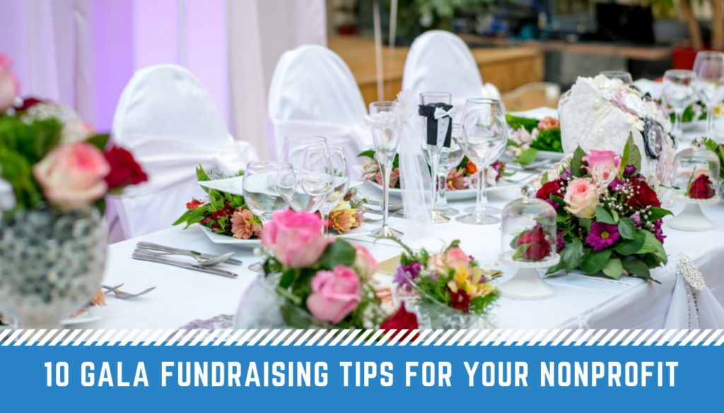 Gala Fundraising Tips - fundraising gala activities