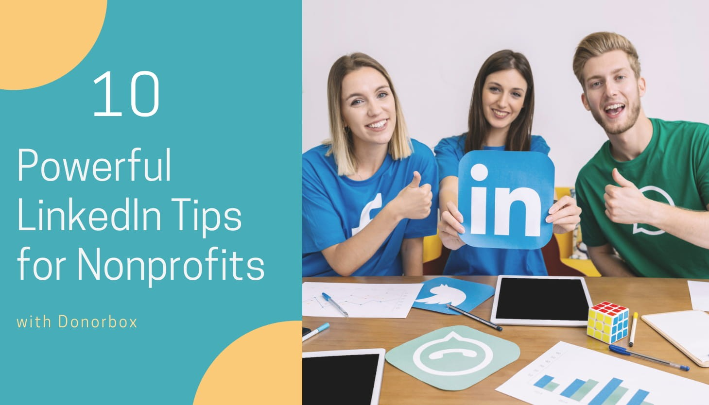 10 Powerful LinkedIn Tips for Nonprofits | Donorbox