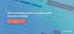 fundraising email