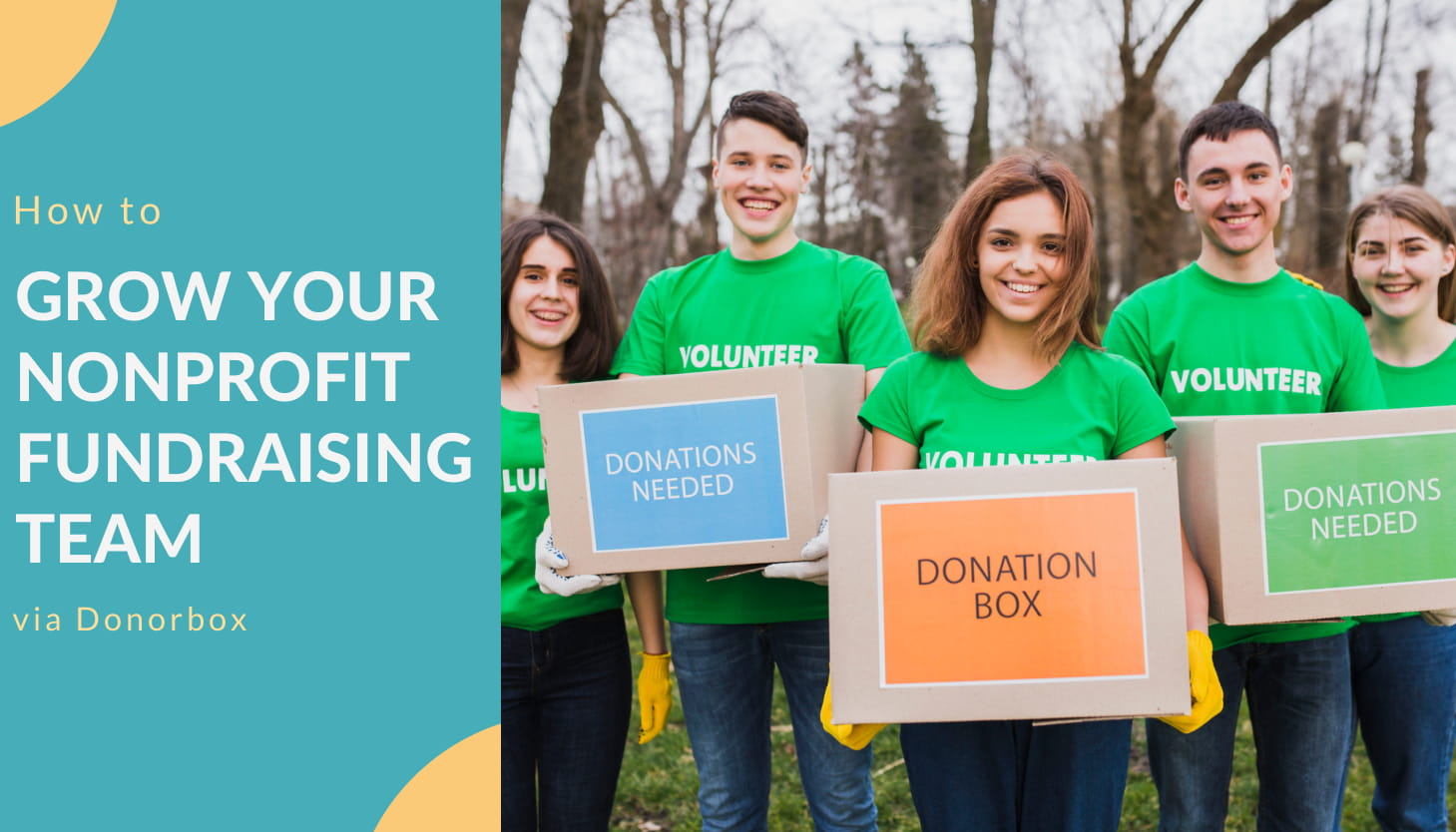 How to Grow Your Nonprofit Fundraising Team