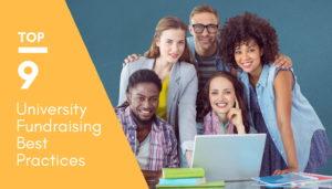 University fundraising best practices
