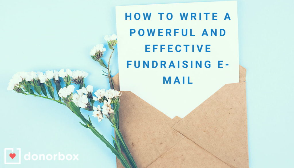Effective Fundraising Email
