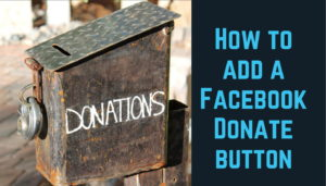 facebook donation button