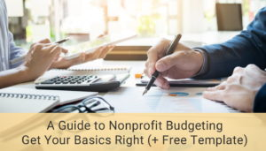 nonprofit budgeting