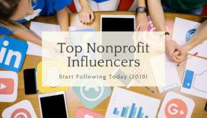 nonprofit influencers