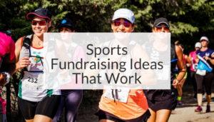 sports fundraising ideas