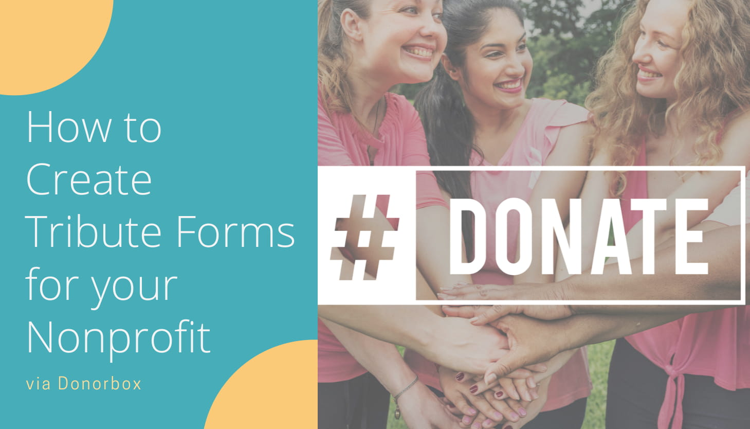 How to Create Tribute Forms for Your Nonprofit via Donorbox