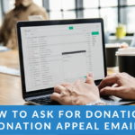 Donation appeal emails