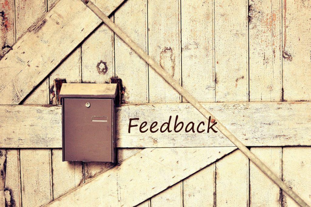 Manage volunteers - feedback