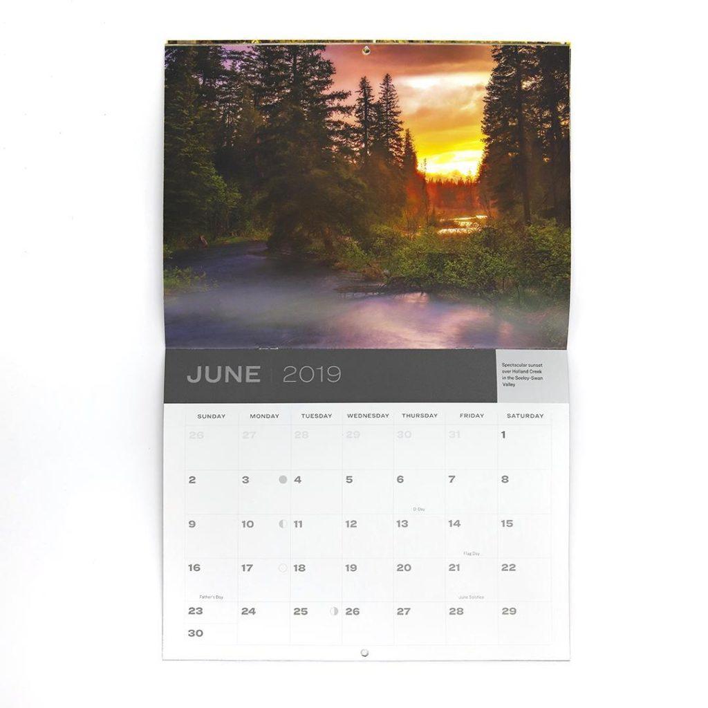 Calendar - print marketing for nonprofits