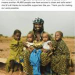 Charity water - nonprofit social media