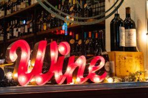 Wine sell - food fundraising ideas