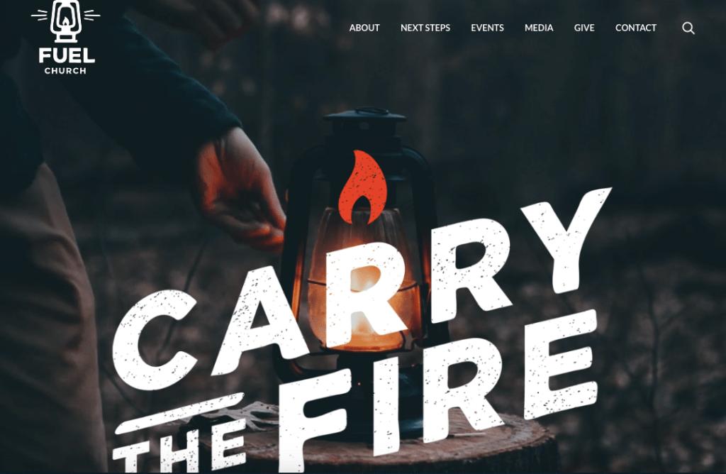 Fuel-church donate website